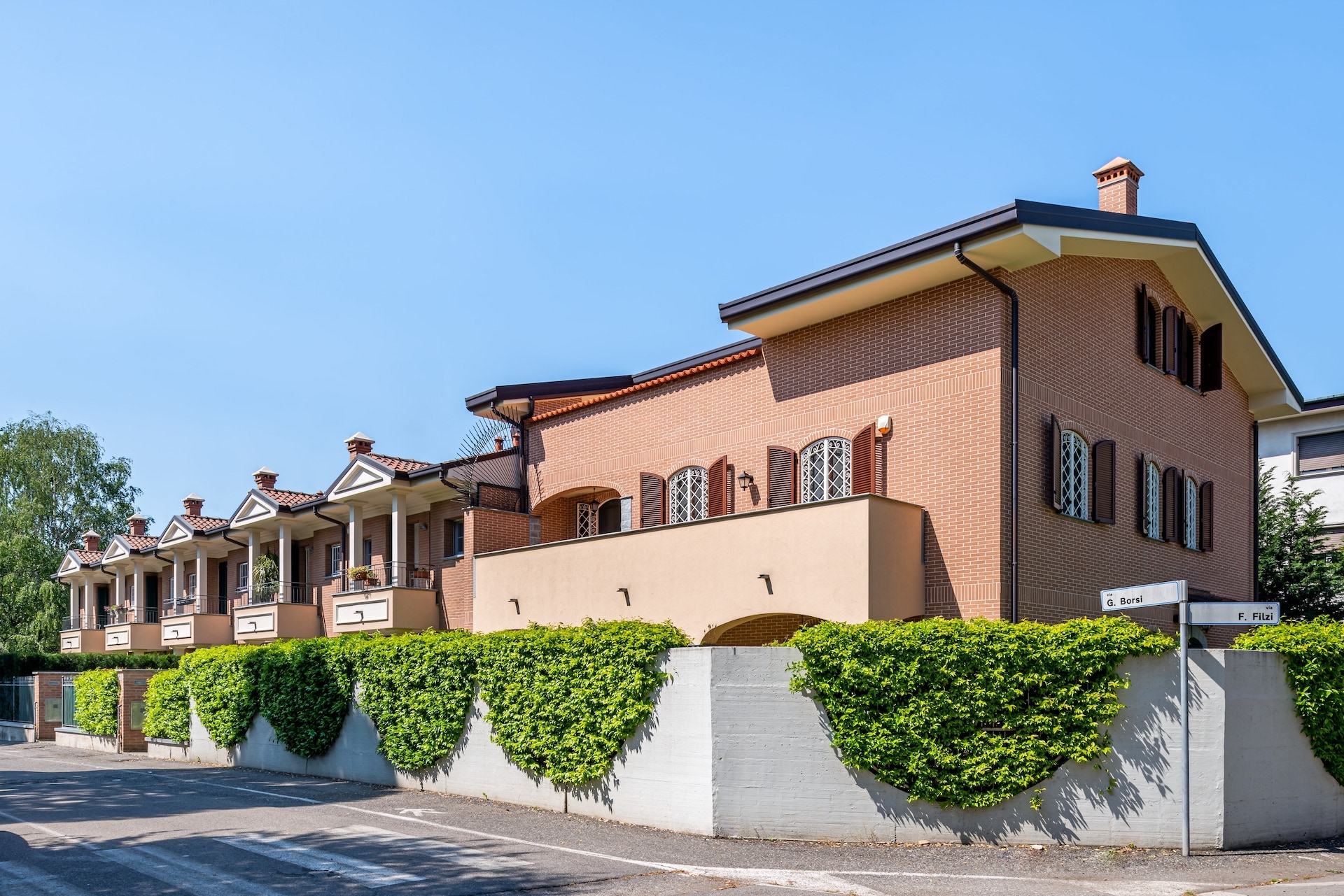 Villette a schiera, Via Borsi angolo Via Filzi, Saronno-HDR-10