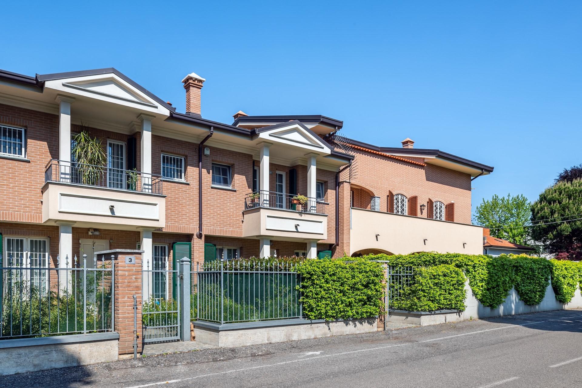 Villette a schiera, Via Borsi angolo Via Filzi, Saronno-HDR-3